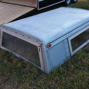 Aluminum truck cap/topper.