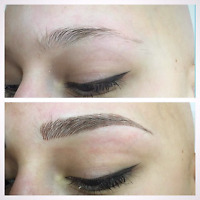 Promotion/Micro blading/ permanent makeup/ Maquillage permanent