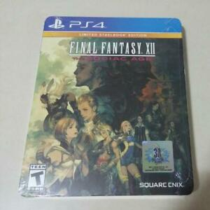 Final Fantasy XII The Zodiaz Age Sealed Collector's Steelbook PS