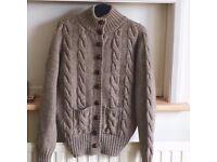 Ladies 100% Wool Cardigan (NEW)