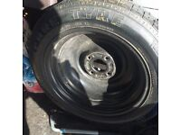 Spare Tyre fits MK1 Ford Focus