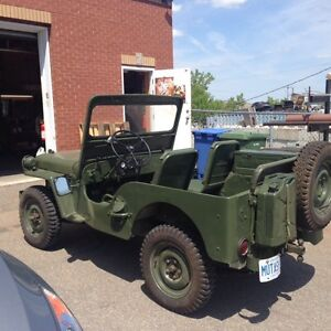 Willy's M-38 Korean JEEP