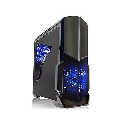 SkyTech Shadow Gaming Computer PC AMD FX 3.8 Ghz GTX 1050 Ti 4GB 1TB HDD Win10
