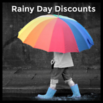 Rainy Day Discounts