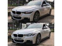 BMW 1 series f20/F21 and 3 series F30/F31 angel eye headlights retro fit