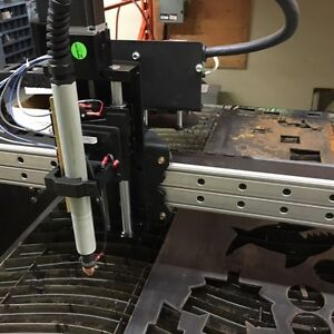 Modular CNC table for plasma, router and oxy/fuel cutting
