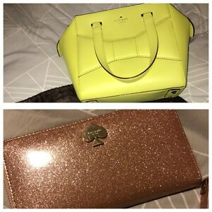 Kate Spade beau bag & Stacy wallet