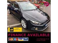 3 YEAR WARRANTY & AA Cover - VW Scirocco GT - Long MOT - Superb Value!!