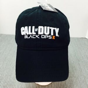 Call of Duty Black OPS II 2 snapback Baseball Hat Cap Adjustable embroidered NWT