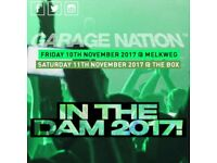 Garage nation in DAM - 10th nov - 11th Nov -