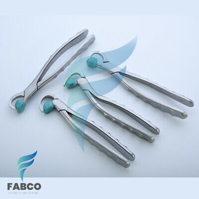 Premium Dental Extraction Forceps Standard Series Set Of 4 Pcs Dental Instrument