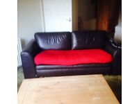leather sofa chair coffee table 2 double beds cabinets,emptying house
