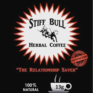STIFF BULL All Natural Instant HERBAL COFFEE