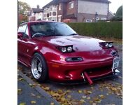 Mx5 mk1 turbo, drift, show car, stance
