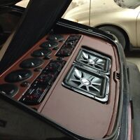CAR AUDIO-AMP & SUB INSTALLATION FROM $39.99