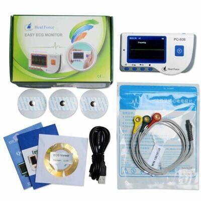 Heal Force Pc-80b Advanced Handheld Color Screen Ecg Portable Heart Monitor