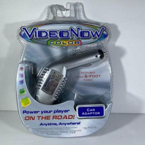 Video Now Color Car Adapter with 6 foot cord, Brand New and Sealed