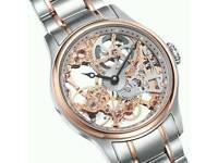 Skeleton watch thomas earnshaw