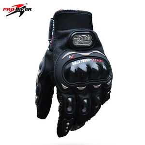 Motorcycle Bike Riding Gloves with protection | Black | New o