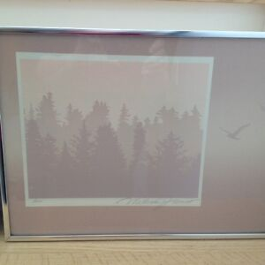 Two Marcus James numbered prints Comox / Courtenay / Cumberland Comox Valley Area image 1