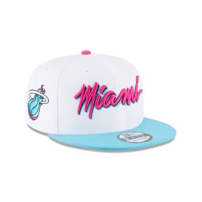 Nba Miami Heat Mitchell And Ness Adjustable Fit Cap Hat Snapback M&n New Reasonable Price Basketball Sporting Goods