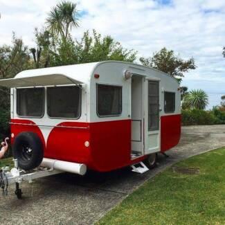 1960's Handmade Bondwood Caravan Austinmer Wollongong Area Preview