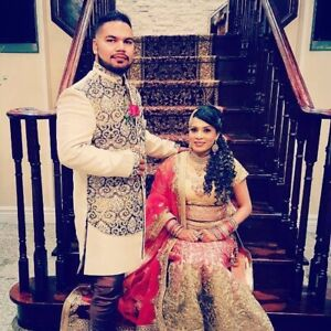 Indian pakistani bridal and groom dress and accessory on rent