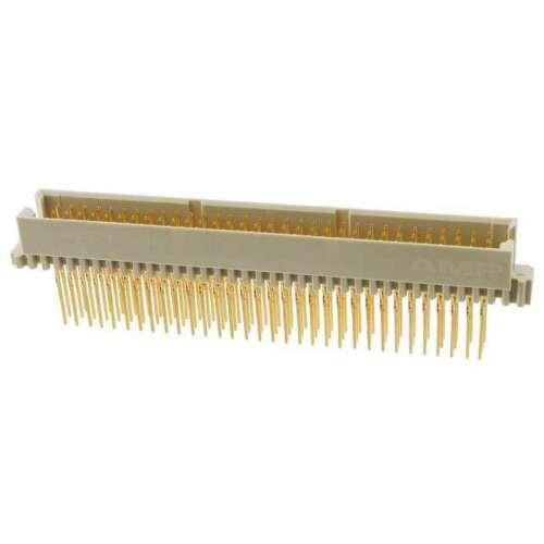 TE 1-650909-4 DIN 41612 connectors eurocard VER plug 96P qty=3