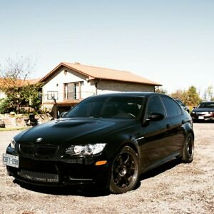 2011 Black E90 M3 the Last V8 sedan M3 and manual!!