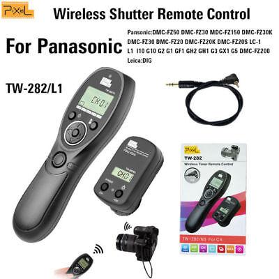 UK Seller! Pixel TW-282/L1 Wireless Timer Remote Control for Panasonic DSLR