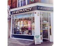 Retail Sales Assistant for West London Pharmacy