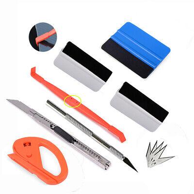 Auto Folien Set Werkzeuge Signieren Car Wrapping Rakel Filz Folie Messer - DE Rakel