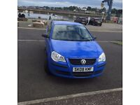 Vw polo 1.2 petrol 08 reg 71k miles, long mot £1999