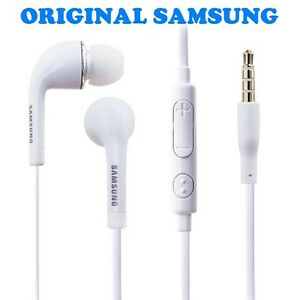 kit pieton ecouteur samsung intra auriculaire blanc galaxy note 1 2 3 4 original ebay. Black Bedroom Furniture Sets. Home Design Ideas