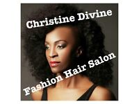 European & Afro Caribbean hairstyles Christine Divine fashion hair salon