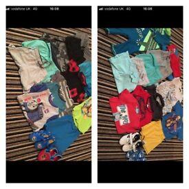 Boys 2-3 clothes bundle