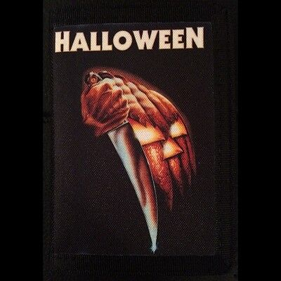 Halloween Michael Myers Canvas Trifold Wallet Horror Punk Rockabilly Psychobilly](Horror Punk Halloween)