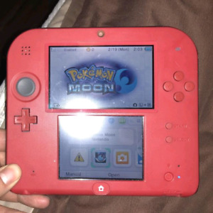 Red Nintendo 2DS Plays 3DS Also $50