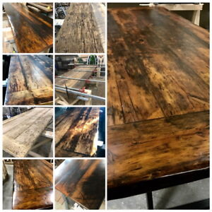 Custom Furniture/Barn wood/Maple/Pine/Hemlock
