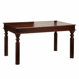 MAHARANI DINING TABLE SOLID PINE