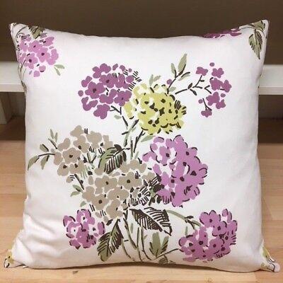Handmade Ashley Wilde Kew Heather 100% Cotton Cushion Cover.Various sizes ()