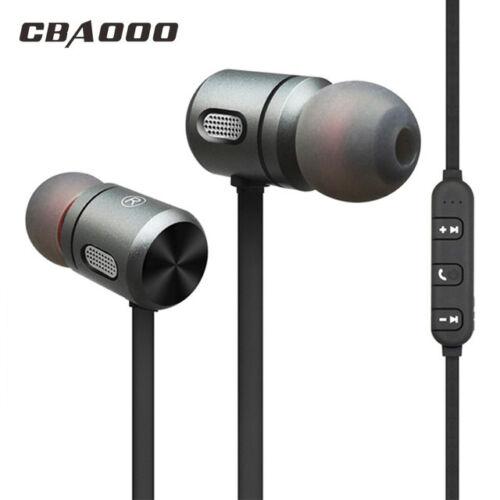 CBAOOO Magnet Wireless Bluetooth Earphone Headset Stereo Bass Headphone US Ship