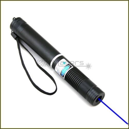 BH4-A 450nm Adjustable Focus Blue Laser Pointer Visible Laser 10000M Torch Pen