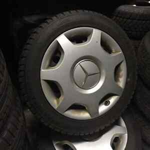 Mercedes CLK 230 Winter Tires & Wheels-USED!
