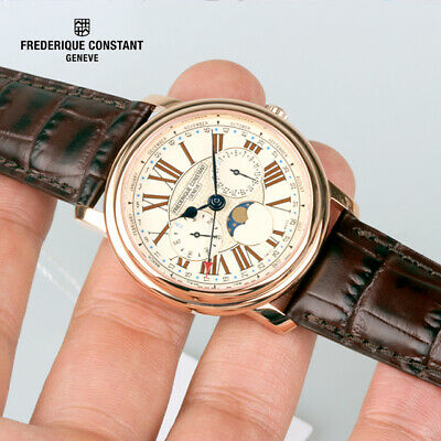 Frederique Constant FC-270EM4P5 Business Timer Moon phase 40mm Men