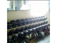 Commercial weights- full set