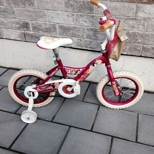 "Disney Princess Girls Bike Like New 14"" inch"