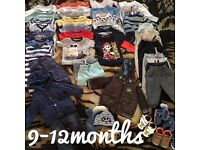 Boy clothes 9-12 and 12-18 months