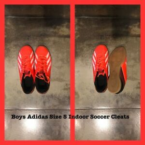 Youth Boys Adidas Indoor Soccer Shoes