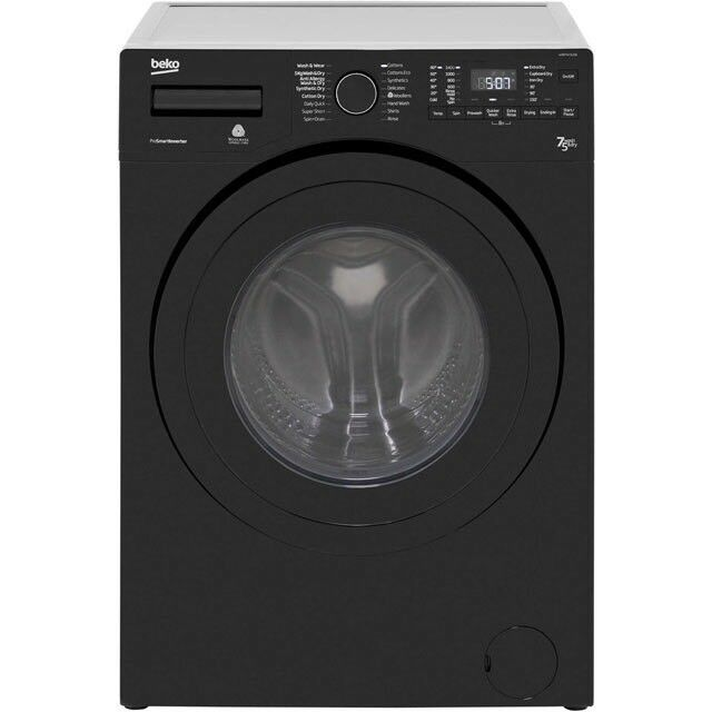NEW* Beko WDR7543121B 7Kg/5Kg Washer Dryer with 1400 rpm - Black warranty included SALE ON PRP £379